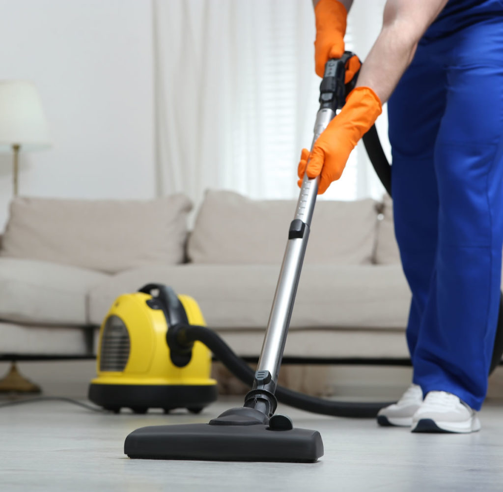 vacuuming home domestic cleaners london